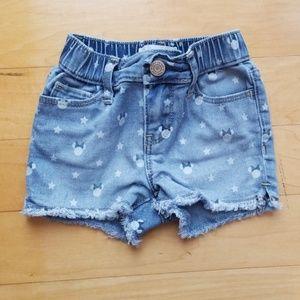 5/$25 Gap x Disney Minnie Mouse Denim Shorts